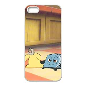 Brave Little Toaster iPhone 5 5s Cell Phone Case White as a gift Y4608704