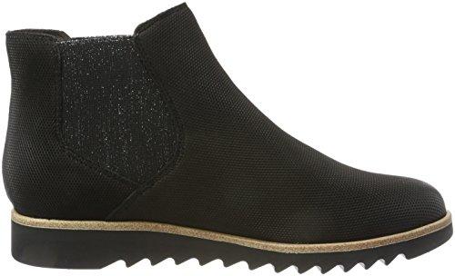 Noir Femme 25300 805 black Tamaris Bleu navy Chelsea Boots gaxwT60q