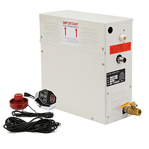 Purchase Happybuy 9 KW Steam Generator 220V Sauna Bath Steamer with Waterproof Programmable Controls...