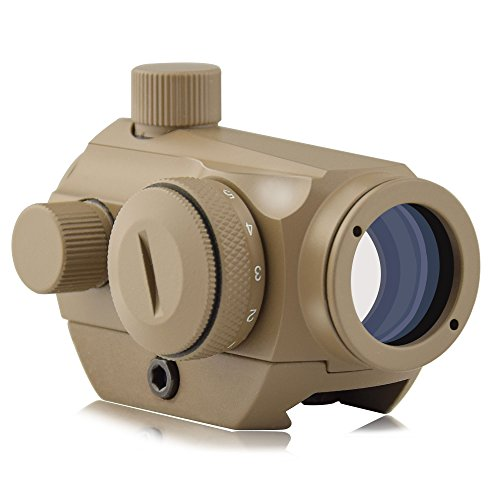 (OTW Red Dot Sight,1x20mm/1x27mm 4 MOA Red Green Dot Sight Micro Rifle Scope)