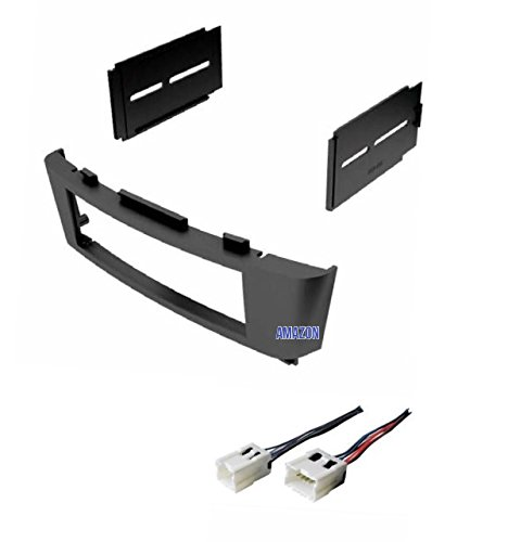 Kit Nissan Sentra Spec - Car Stereo Dash Kit and Wire Harness for Installing a new Radio for 2000 2001 2002 2003 2004 2005 2006 Nissan Sentra