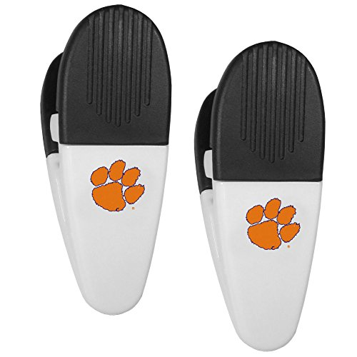 NCAA Clemson Tigers Mini Chip Clip Magnets, Set of 2