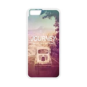 Dustin Funny Quote IPhone 6 Plus Cases the Journey not the Destination, [White]
