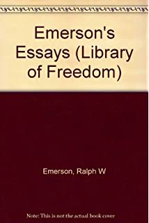essays first series emerson You can listen to ralph waldo emerson's first series of essays using the player below click on the play button to listen online or you can download the fi.