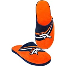 NFL Football Big Logo Team Slide Slippers Hard Sole