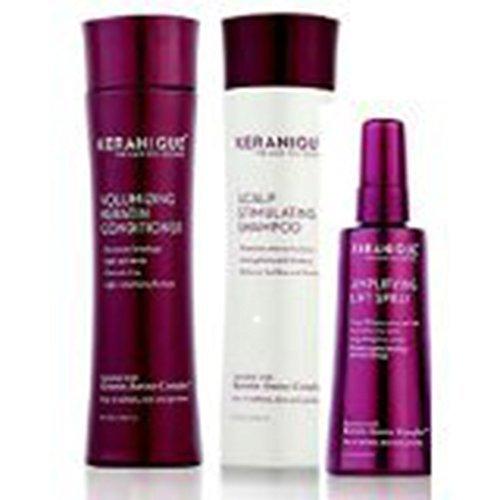 Keranique Volumizing Shampoo-Conditioner, 8 oz.Duo Plus Lift & Repair Treatment Spray, Set