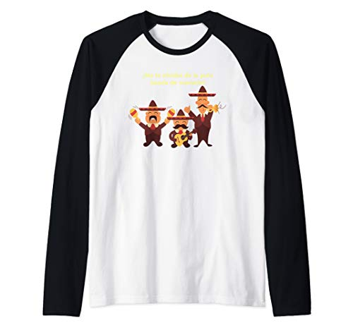 Mariachi Band Humor banda de mariachi humor shirt Raglan Baseball Tee