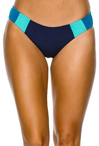 New L Space Women's Mia Reversible Bikini Bottom Nylon Spandex (L Space Nylon Bikini)