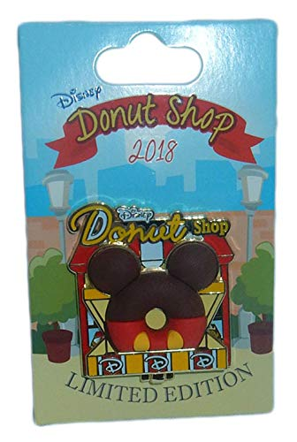2018 Disney Parks Exclusive Mickey Mouse Donut Shop Pin 1st in Series Limited Edition