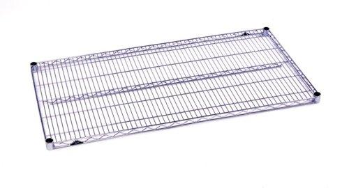 Metro 1442BR Super Erecta Brite Steel Wire Shelf, 800 lb. Capacity, 1