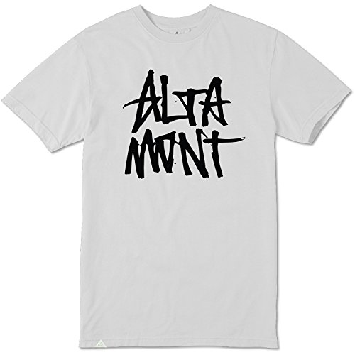 Altamont Tee (ALTAMONT T-Shirt Stacked TEE White Size S)