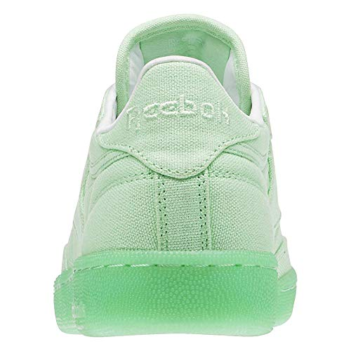 Club 85 Canvas Shoe Mint C Reebok White Running Green Women's fq7SwWCp