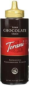 Torani Dark Chocolate Sauce, 16.5 oz