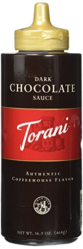 (Torani Dark Chocolate Sauce, 16.5 oz)