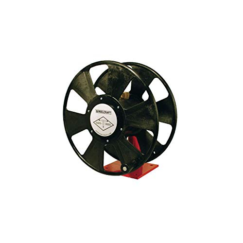Reelcraft TW7450 OLPT Twin 1/4-Inch by 50-Feet Spring Driven T-Grade Hose Reel for Fuel Gas Welding