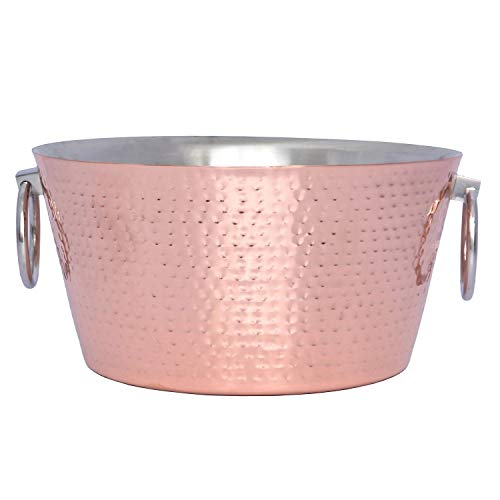 Member's Mark 12 Quart Double Walled Hammered Beverage Tub (Assorted Colors) (Copper)
