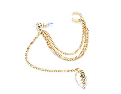 Zealmer Earring Chains Shaped Pendant