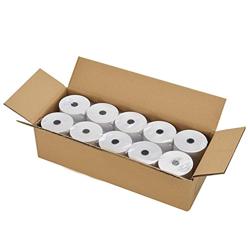 Receipt Rolls Paper 10 (PackingSupply Thermal Receipt Paper Rolls 3-1/8 x 230ft, 10 rolls)