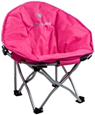 Lucky Bums Moon Camp Indoor Outdoor Comfort Lightweight Durable Chair with Carrying Case, Large,…