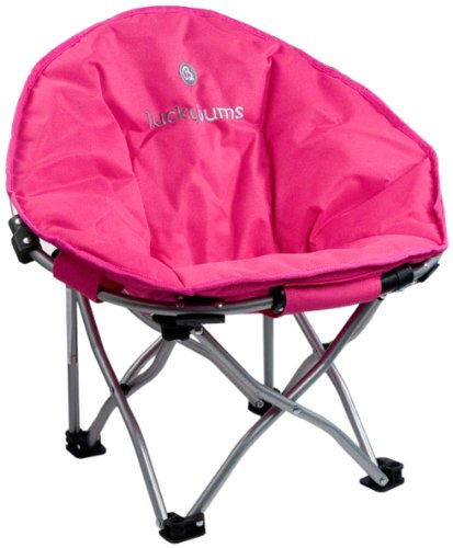Lucky Bums Moon Camp Chair, Pink - Small