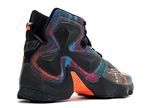 Hyper Bleu Noir Noir Orange de Orange Nike Noir Taille Lagon Sport Lebron Homme Bleu Chaussures XIII Basketball aARwAOPq7