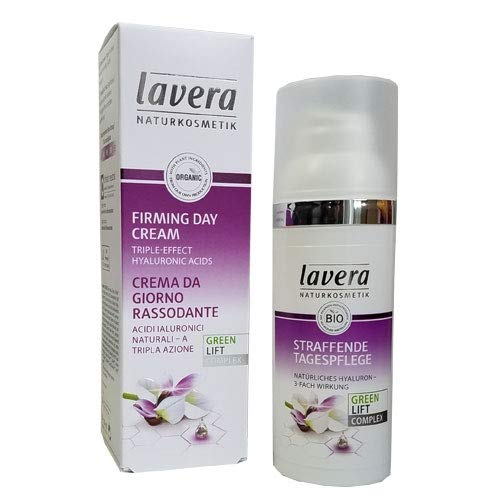 Lavera Lavera karanja oil and organic white tea firming day cream, 1.6oz, 1.6 Ounce