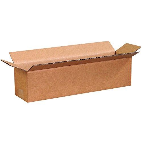 "Aviditi 1644 Corrugated Boxes, Long 16"" x 4"" x 4"", Kraft (Pack of 25) from Aviditi"