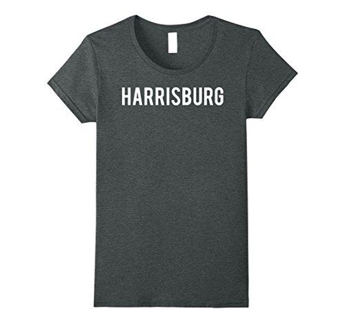 Womens Harrisburg T Shirt Cool Pennsylvania PA city gift tee Medium Dark (City Of Harrisburg)
