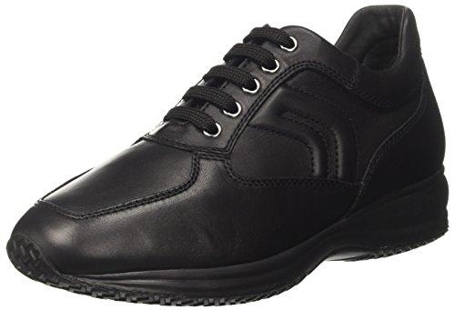 Geox Herren U Happy Art. Heureux H Sneaker Schwarz (black) Chaussure (noir)