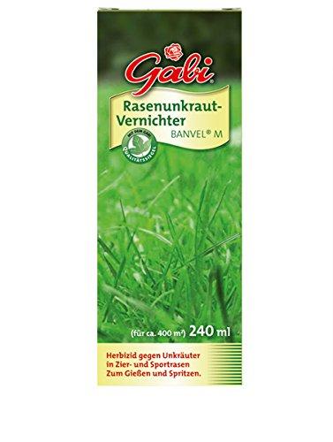 Gabi 115368 Rasenunkraut-Vernichter Banvel M