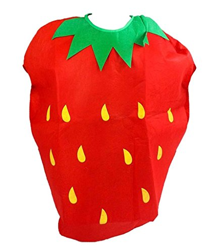 Petitebella Fruit Animal Novelty Unisex Adult Costume (Strawberry)