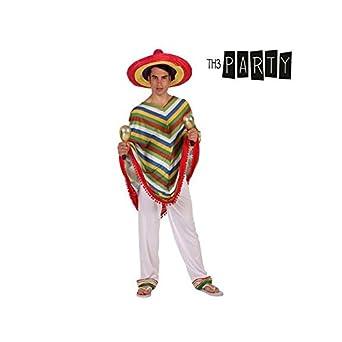 Disfraz para Adultos Th3 Party Mexicano: Amazon.es: Ropa y accesorios