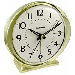 NYL HOLDINGS LLC/WESTCLOX 11605QA Gold Baby Ben Battery Operated Alarm Clock