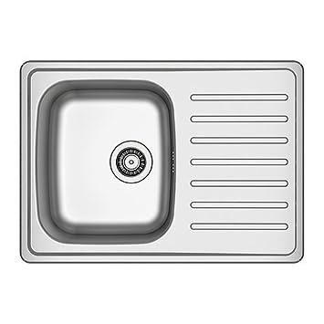 IKEA FYNDIG - 1 tazón de lavabo empotrado con escurridor, de ...