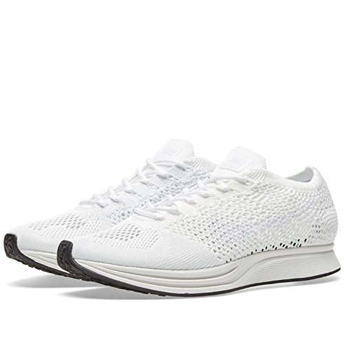 separation shoes 924be c9aa7 Galleon - Nike Flyknit Racer Unisex Running Trainers 526628 Sneakers Shoes  (UK 11.5 US 12.5 EU 47, White Sail Pure Platinum 100)