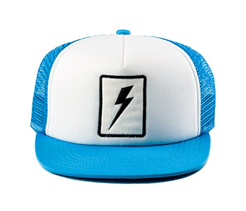 - Born to Love Baby Boy Infant Trucker Sun Hat Toddler Baseball Cap White and Blue Lightning Hat XS 43 cm 6 to 12 Months