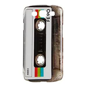 LIMME Tape Cassette Pattern Hard Case for Samsung Galaxy S3 I9300 (Multi-Color)