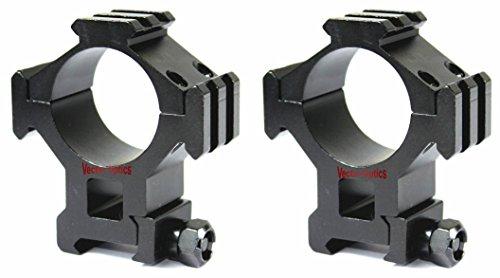 TAC Vector Optics Tactical 35mm Riflescope Weaver Mount Scope Rings High See Through Triple Picatinny Rails for Vortex Millett Burris Leupold Scope Color Black For Sale