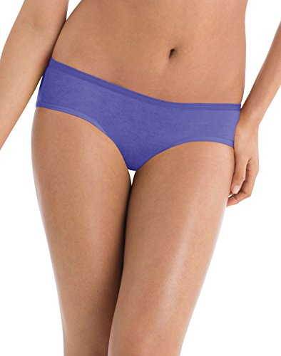 Cool Cotton Hipster (Hanes Women's 10 Pack Cotton Hipster Panty, Assorted, 6)