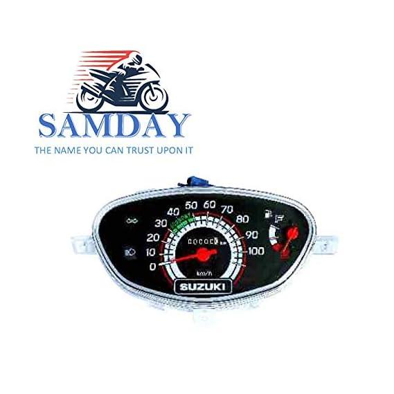 SAMDAY Speedometer Compatible for SUZUKI LET'S (2014 ONWARD)- 70546