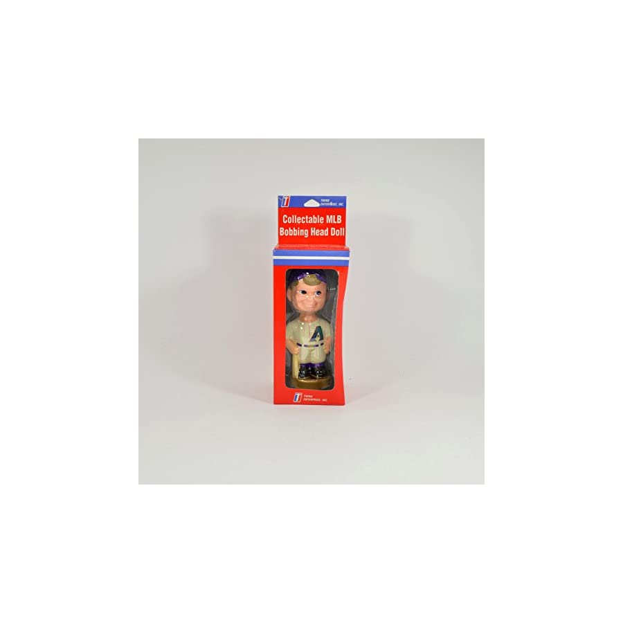 "Arizona Diamondbacks Bat Boy 7"" Collectable Ceramic Bobble Head Type 1 NIB"