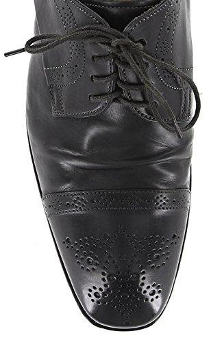 Nuevos Zapatos Negros Santoni 7.5 / 6.5