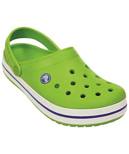 Blue Volt enfant Green Varsity Sabots Band Crocs Vert mixte 48pwSq