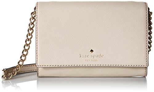 kate spade new york Cedar Street Cami Convertible Cross Body Bag, Crisp Linen, One Size (Crisp Bags)