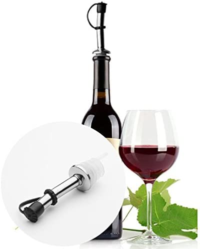Silver New Bar Accessories Red Wine Stoppers Metal Bottle Stopper Twist