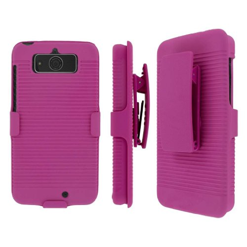 MPERO Collection 3-in-1 Tough Kickstand Case for Motorola Droid Mini – Pink
