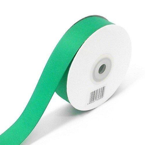 25m full reel woven edged Grosgrain Ribbon - 25mm (1 inch) width Emerald Green by Bountiful Harvest (1 Inch Woven Edged Ribbon)
