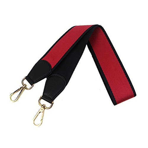 Wide Girls Leather Purse Replacement Strap Red 5 Multicolor Crossbody Umily 0cm Black For 75cm Fashion Style Women 135cm Handbags Canvas x5IcqH