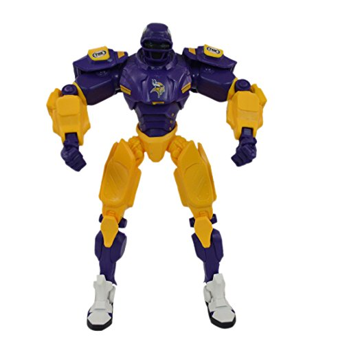 Official National Football Fan Shop Authentic NFL Fox Sports Cleatus Robot (Minnesota Vikings)