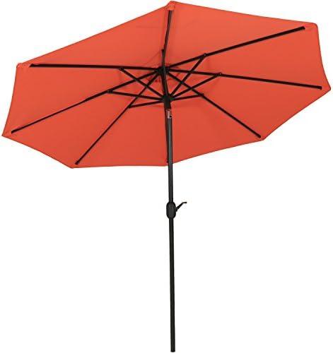 Sunnydaze 9-Foot Outdoor Patio Umbrella